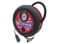 Faithfull FAIAUTYINFLO - Tyre Inflator 12v Low Volume
