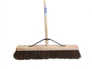 Faithfull FAIBRBAS24H - Broom Stiff Bassine 60cm (24 in) + Handle & Stay