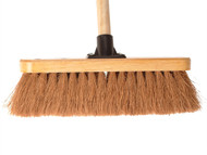 Faithfull FAIBRCOCO12H - Broom Coco 30cm (12in) Head with 48in Handle
