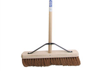 Faithfull FAIBRCOCO18H - Broom Soft Coco 45cm (18 in) + Handle & Stay