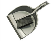 Faithfull FAIBRDUSTSET - Dustpan & Brush Set Plastic