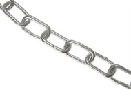 Faithfull FAICHBOX80Z - Zinc Plated Chain 8mm x 10m Box - Max Load 450kg