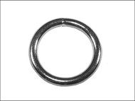 Faithfull FAICHWR60 - Zinc Plated Welded Rings 6mm (Pack of 4)