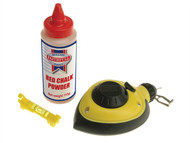 Faithfull FAICLRAPSET - Rapid Chalk Line & Chalk & Level