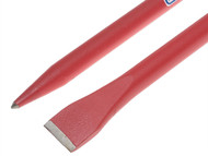Faithfull FAICROW60 - Chisel & Point Crowbar 1.5m x 28mm