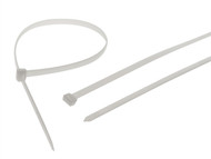 Faithfull FAICT900WHD - Heavy-Duty Cable Ties White 905mm x 9mm Pack of 10