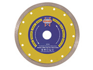 Faithfull FAIDB105CR - Diamond Tile Blade Continuous Rim 105mm x 16mm
