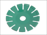 Faithfull FAIDB115CB - Diamond Blade Green Concave Curve Cutting 115mm x 22.2mm