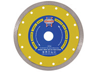 Faithfull FAIDB115CR - Diamond Tile Blade Continuous Rim 115mm x 22.2mm