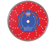 Faithfull FAIDB125TURB - Turbo Cut Diamond Blade 125mm x 22mm