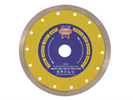 Faithfull FAIDB180CR - Diamond Tile Blade Continuous Rim 180mm x 25.4mm