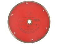 Faithfull FAIDB200CR - Diamond Tile Blade Continuous Rim 200mm x 25.4mm