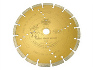 Faithfull FAIDB230S - Diamond Blade Gold Series Universal Cut 230mm x 22.2mm