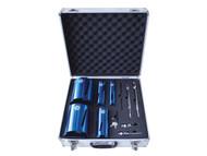 Faithfull FAIDCKIT11 - Diamond Core Drill Kit & Case Set of 11