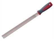Faithfull FAIFICR10 - Handled Half Round Cabinet Rasp 250mm (10in)