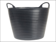Faithfull FAIFLEX15B - Heavy-duty Polyethylene Flex Tub 15 Litres Black