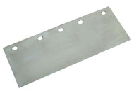 Faithfull FAIFSBLADE - Floor Scraper Blade 200mm (8in) 5 Hole