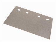 Faithfull FAIFSHD8B - Floor Scraper Blade Heavy-Duty 200mm (8in) 4 Hole
