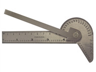 Faithfull FAIGAUGEMULT - Multi Purpose Angle Protractor 100mm (4in)