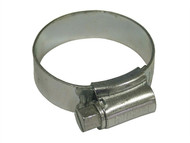 Faithfull FAIHC1MSSB - 1M Stainless Steel Hose Clip 32 - 45mm