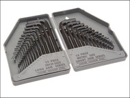 Faithfull FAIHKS30MAF - Hexagon Key Set of 30 Metric / Imperial (0.7-10mm 1/16-3/8in)