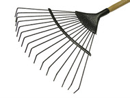Faithfull FAILRE - Lawn Rake 16T Carbon Steel Ash Handle