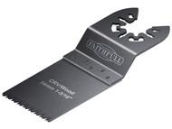 Faithfull FAIMFW34B - Multi-Functional Tool Flush Wood Blade Side Set 34mm Pack of 5