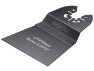 Faithfull FAIMFW68B - Multi-Functional Tool Flush Wood Blade Side Set 68mm Pack of 5