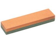 Faithfull FAIOS4C - Combination Oilstone Aluminium Oxide 100 x 25 x 12.5mm