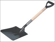 Faithfull FAIOSS4PY - Open Socket Shovel - Square No.4 PYD