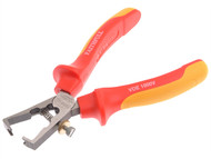 Faithfull FAIPL79160V - Certified Insulated Stripping Pliers VDE 160mm