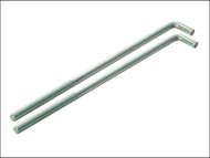 Faithfull FAIPROEXTB18 - External Building Profile - 460 mm (18 in) Bolts (Pack of 2)