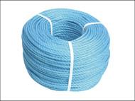 Faithfull FAIRB22080 - Blue Poly Rope 8mm x 220m