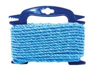 Faithfull FAIRB6020H - Blue Poly Rope 6mm x 20m
