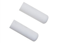 Faithfull FAIRMINI2F - 2 Foam Mini Roller Refills 100mm (4in)
