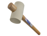 Faithfull FAIRMW214 - Rubber Mallet - White 567g (20oz)