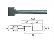 Faithfull FAIRYOSC75 - Scaling Chisel 300x75mm Ryobi / Bosch