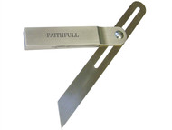 Faithfull FAISB250SS - Aluminium Sliding Bevel Stainless Steel Blade 250mm (10in)