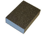 Faithfull FAISBCM - Sanding Block - Coarse/ Medium 90 x 65 x 25mm