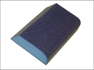 Faithfull FAISBCOMBI - Combi Foam Sanding Block 90 x 75 x 25mm