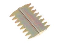 Faithfull FAISC112N - Scutch Combs 38mm (Pack 5)