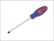 Faithfull FAISDF150 - Soft Grip Screwdriver Slotted Flared Tip 8mm x 150mm