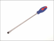 Faithfull FAISDF300 - Soft Grip Screwdriver Slotted Flared Tip 12mm x 300mm