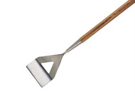 Faithfull FAISDHW - Dutch Hoe Stainless Steel with Wooden Handle 1.4m