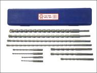 Faithfull FAISDSSET11 - SDS Plus Drill Bit Set 11 Piece 5-20mm
