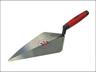 Faithfull FAISGBTF11 - London Pattern Forged Brick Trowel Soft Grip Handle 11in
