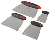 Faithfull FAISGFILLERS - Filler & Spreader Set of 4 Stainless Steel