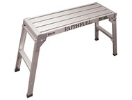 Faithfull FAISTEPUP3 - Fold Away Step Up Aluminium L100 x H52 x W30cm