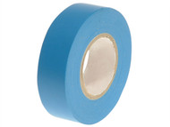 Faithfull FAITAPEPVCBL - PVC Electrical Tape Blue 19mm x 20m