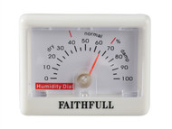 Faithfull FAITHHUMID - Humidity Dial (Hygrometer)